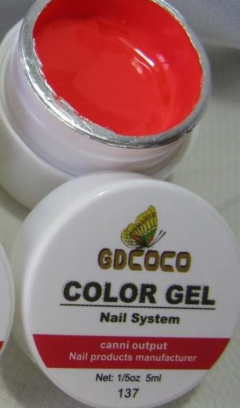 Гель цветной color gel №137