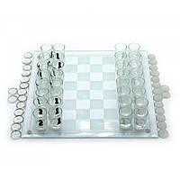 Игровой набор (Шахматы с рюмками,шашки,карты)(35х35х6,5 см)