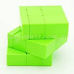 Зеркальный кубик Рубика 3х3 QiYi Mirror block Желтый и Зеленый, фото 4