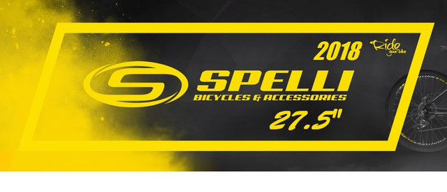 "Велосипеды Spelli 27.5"" 2018"