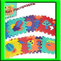 Детский игровой коврик- мозайка для малышей M 2622