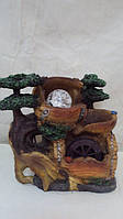 Фонтан декоративный комнатный «Мельница на опушке леса» Габариты: 24х24х3 см