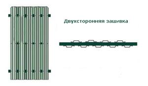 Двухсторонняя зашивка