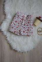 Цветочные джинсовые шорты H&M, фото 3