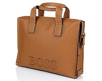 Сумка для документов Hugo Boss 2184-5 Camel