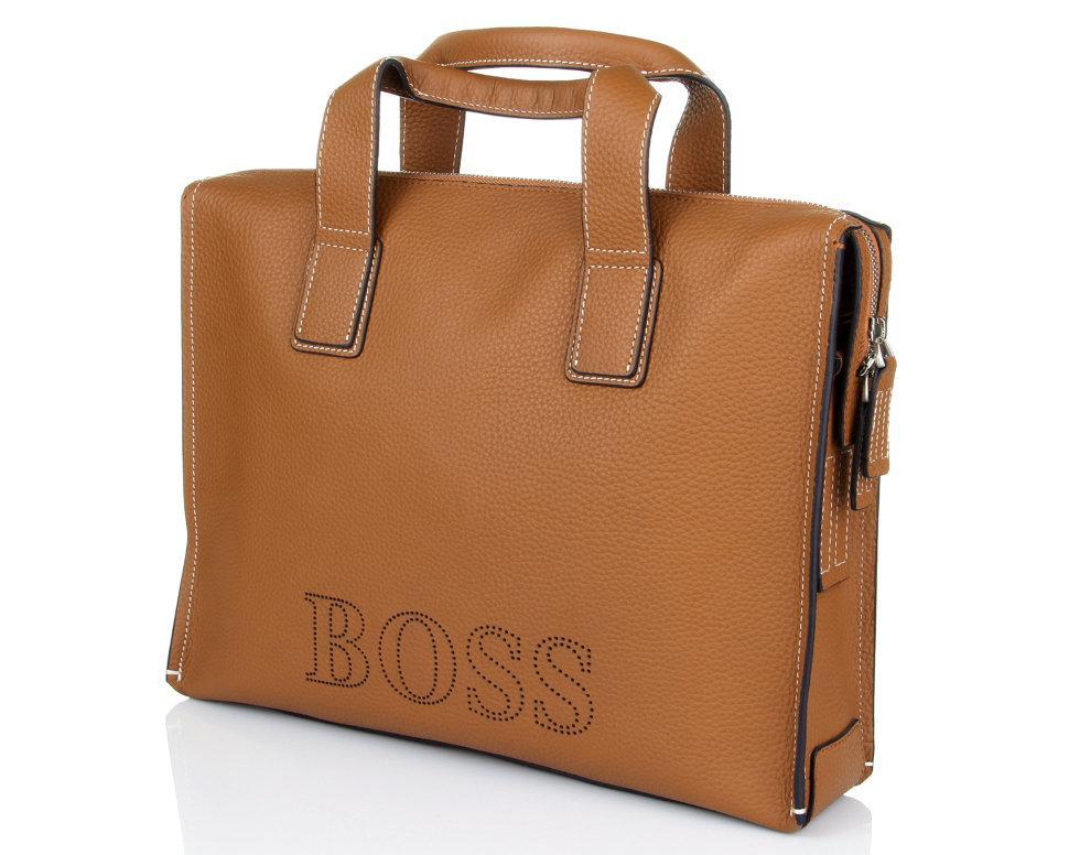 e2f5f42101fb Сумка для документов Hugo Boss 2184-5 Camel, цена 4 873 грн., купить ...