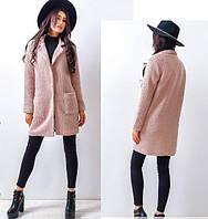 Прямое короткое пальто на осень 88459