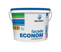 Краска фасадная латексная Kolorit Facade Econom (10 л)