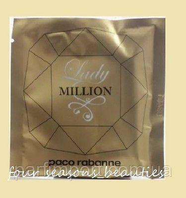 Paco Rabanne LADY MILLION edp 1.2 ml Парфюмированная вода (оригинал подлинник  Франция)