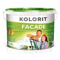Краска фасадная латексная Kolorit Facade Эко (10 л)