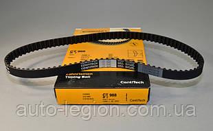 Ремень ГРМ на Renault Kangoo 1997->2008 1.4 / 1.6 (96 зубцов) — Contitech (Германия) - CT 988