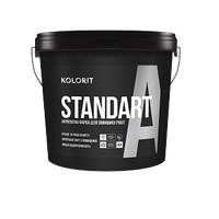 Краска фасадная латексная Kolorit Standart A LC (9 л)