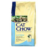 Cat Chow Kitten - сухой корм для котят