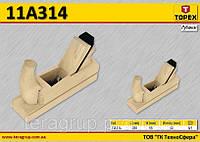 Рубанок деревянный 200мм,  TOPEX  11A314
