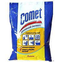 Чистящий порошок с дезинфицирующими свойствами Comet с хлоринолом Лимон 400 г