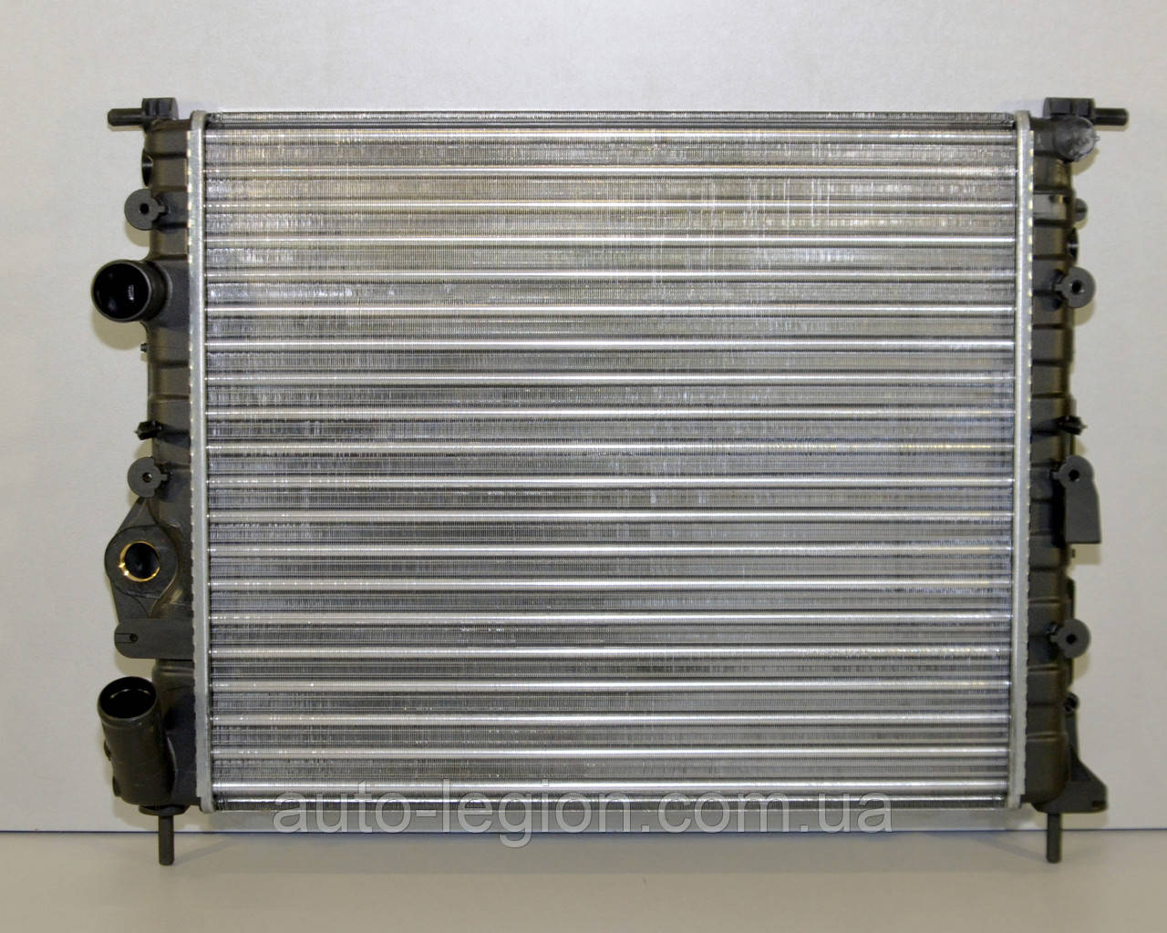Радиатор охлаждения двигателя на Renault Kangoo 97->08 1.5dCi+1.2+1.4 (-AC) — Renault (Оригинал) - 7700838134