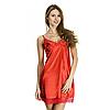 Шёлковая сорочка, ночная рубашка Serenade, арт. 152, цвет красный
