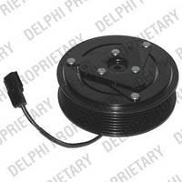 Электромагнитная муфта компрессора кондиционера на Renault Master III 2010-> 2.3dCi — Delphi - 0165001/0
