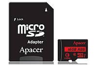 Картка пам*ятi Apacer microSDHC UHS-I 16GB сlass10 б/п