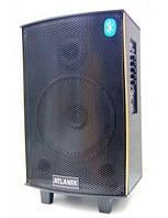 Колонка с микрофоном Atlanfa AT-Q5 (USB/Bluetooth/Аккумулятор/Светомузыка)