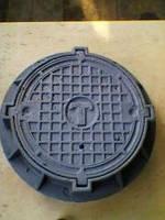 Чугунный канализационный люк, фото 1