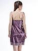 Шёлковая сорочка Serenade, арт. 342, цвет сливовый, фото 2