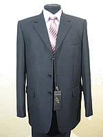 Мужской классический костюм в полоску