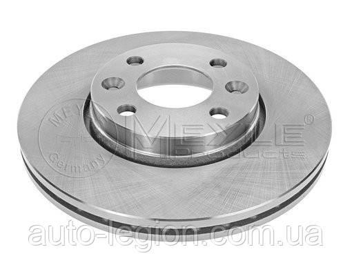 Тормозной диск передний на Renault Dokker 2012-> 258mm — Meyle (Германия) - MY16-155210027