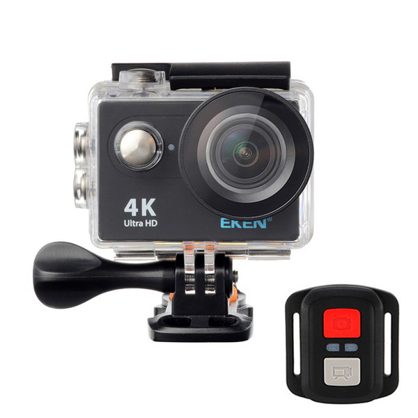 Экшн-камера EKEN H9R Ultra HD 4K (BLACK) с пультом д.у., оригинал
