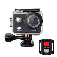 Экшн-камера EKEN H9R Ultra HD 4K (BLACK) с пультом д.у., оригинал, фото 1
