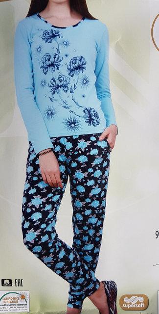 "Женская пижама ""Nicoletta"" №86761 (хлопок)"