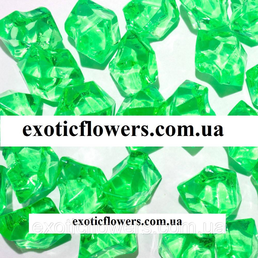 Искусственный лед, ярко зеленый - Интернет-магазин ExoticFlowers в Днепре