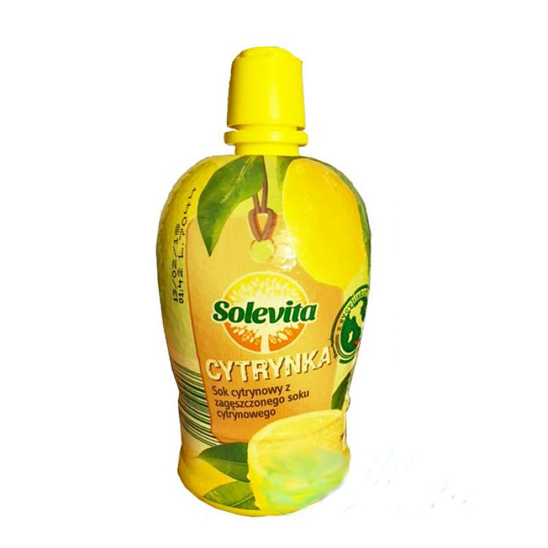 Концентрированный сок лимона Solevita Cytrynka 200мл