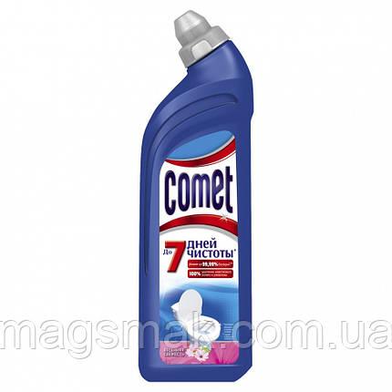 Чистящее средство COMET Весенняя свежесть для туалета 750 мл, фото 2