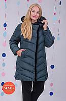 Стильное болоньевое пальто