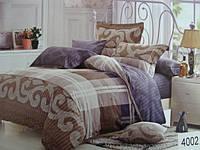 Сатиновое постельное белье евро ELWAY 4002