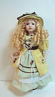 Кукла фарфоровая декоративная Высота 55 см