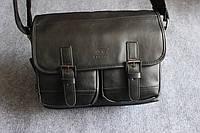 Мужская кожаная сумка. Модель 63239, фото 4