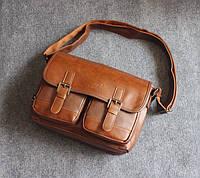 Мужская кожаная сумка. Модель 63239, фото 5