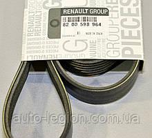 Поликлиновый (ручейковый) ремень на Renault Dokker 2012-> 1.6 (6PK1822)> — Renault (Оригинал) - 117206842R