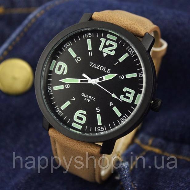 Часы мужские YAZOLE neon (Brown Black) - HappyShop интернет-магазин  счастливых покупок cf952f8e936