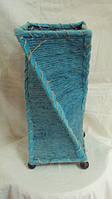 Светильник волна плетеный из ротанга высота 40 см