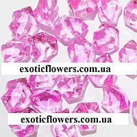 Искусственный лед, розовый
