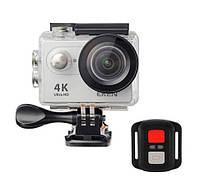 Екшн-камера EKEN H9R Ultra HD 4K (SILVER) з пультом д. у., оригінал, фото 1