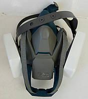 Респиратор 3М 6500QL полумаска силиконовая для защиты органов дыхания с быстрой застежкой