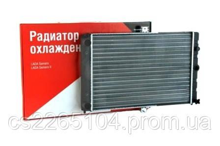 Радіатор водяного охолодження ВАЗ 2108-09 ДААЗ (карбюраторний двигун)