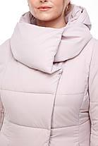 Женская модная зимняя очень теплая куртка пуховик длинная 42 - 54 большие размеры, фото 2
