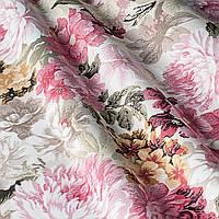 Ткань для штор поляна цветов
