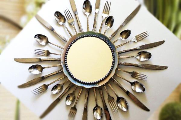 Зеркало для кухни - украшение зеркала своими руками