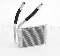 Радиатор отопителя Нексия (2008-) тонкий (алюм-паяный) (LRh 0582) ЛУЗАР